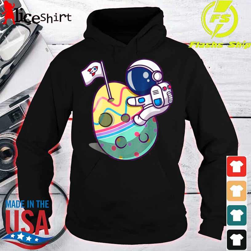 Eggstra Terrestrial Funny Space Astronaut Shirt hoodie