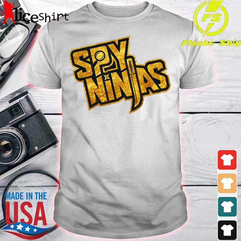Spy Gaming Ninjas Tee Game Wild With Clay Style Shirt