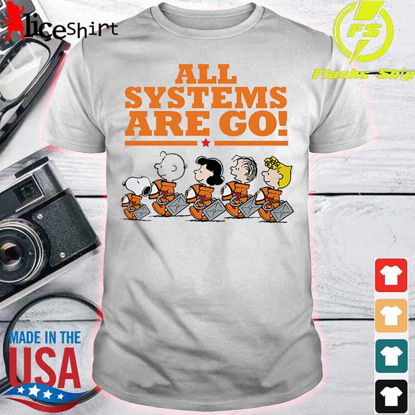 Snoopy Peanuts All Systems Are Go Shirt