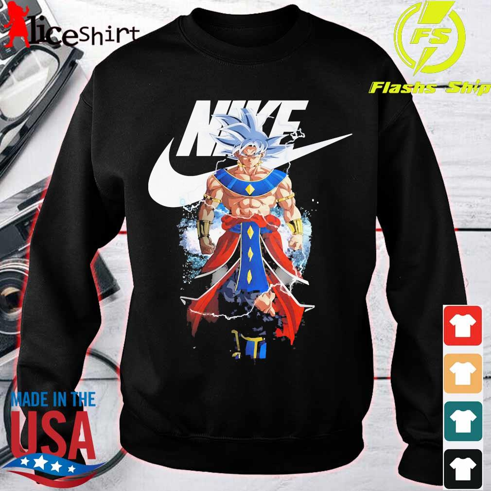 Dragon Ball 7 Songoku Nike logo s sweater