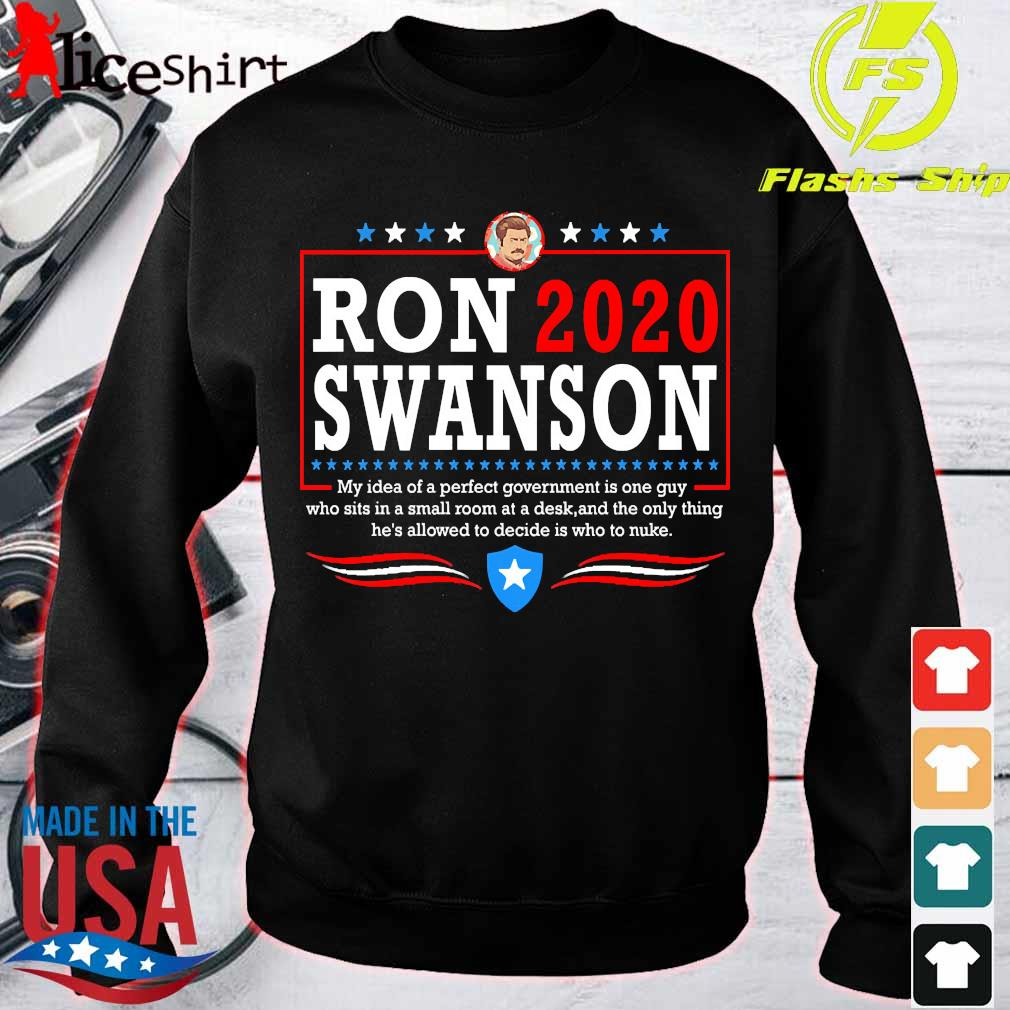 Parks ron 2020 swanson Shirt sweater