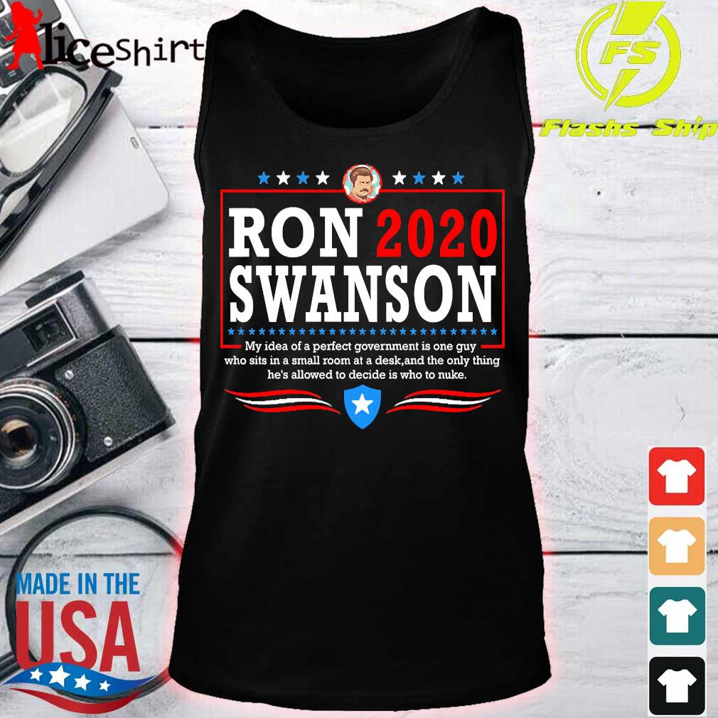 Parks ron 2020 swanson Shirt tank top