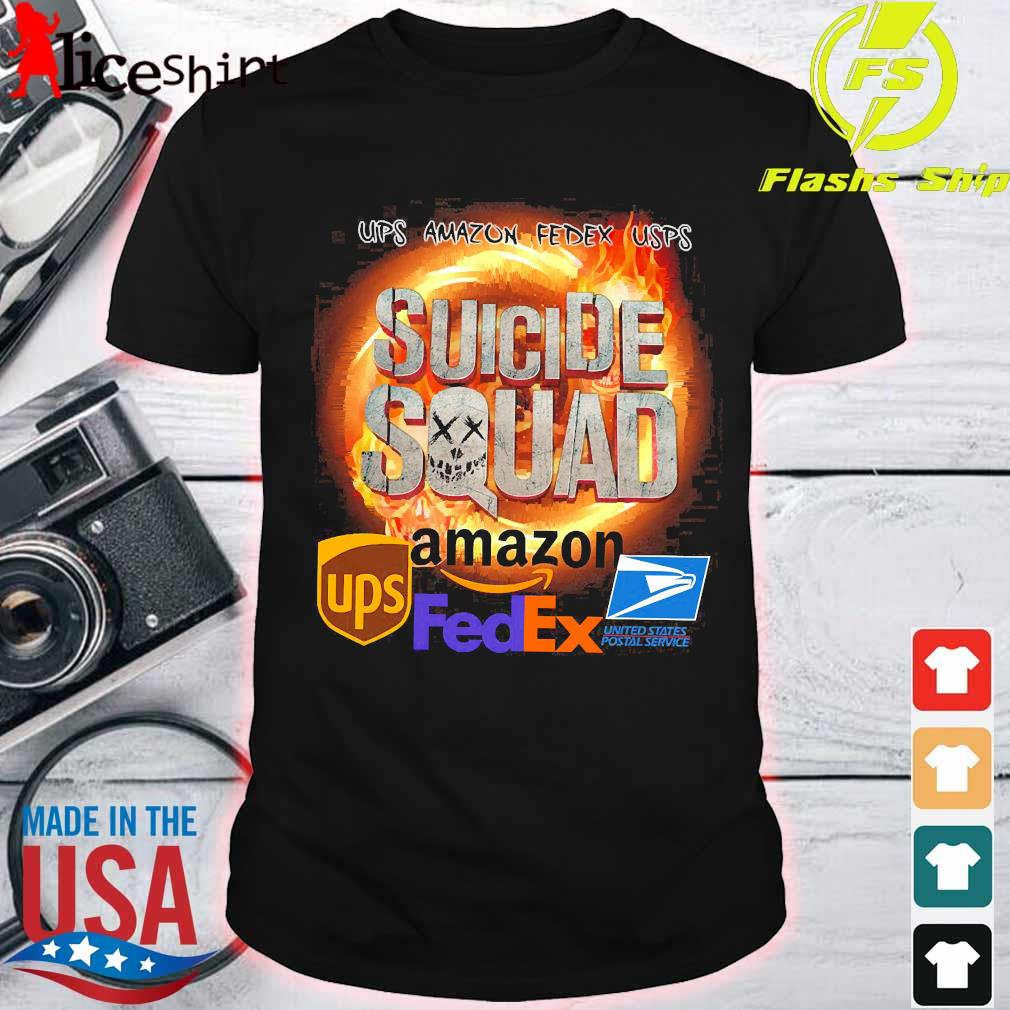 Ups Amazon Fedex Usps Suicide Squad Amazon Ups FedEx Shirt