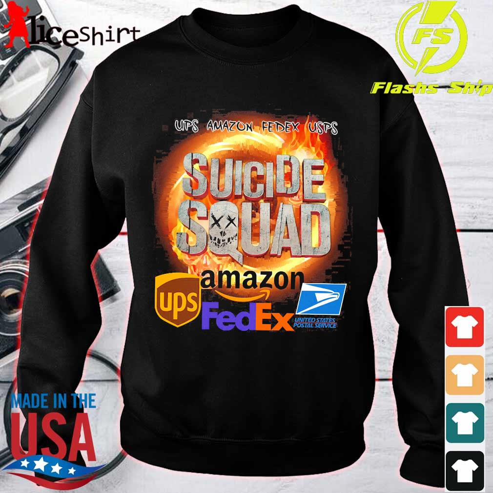 Ups Amazon Fedex Usps Suicide Squad Amazon Ups FedEx Shirt sweater