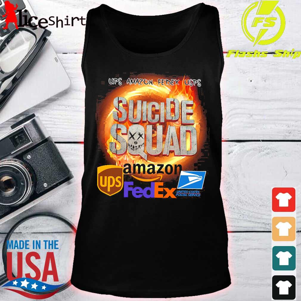 Ups Amazon Fedex Usps Suicide Squad Amazon Ups FedEx Shirt tank top