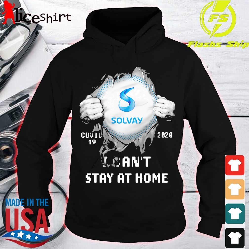 Blood inside me Solway covid 19 2020 i can't stay at home s hoodie