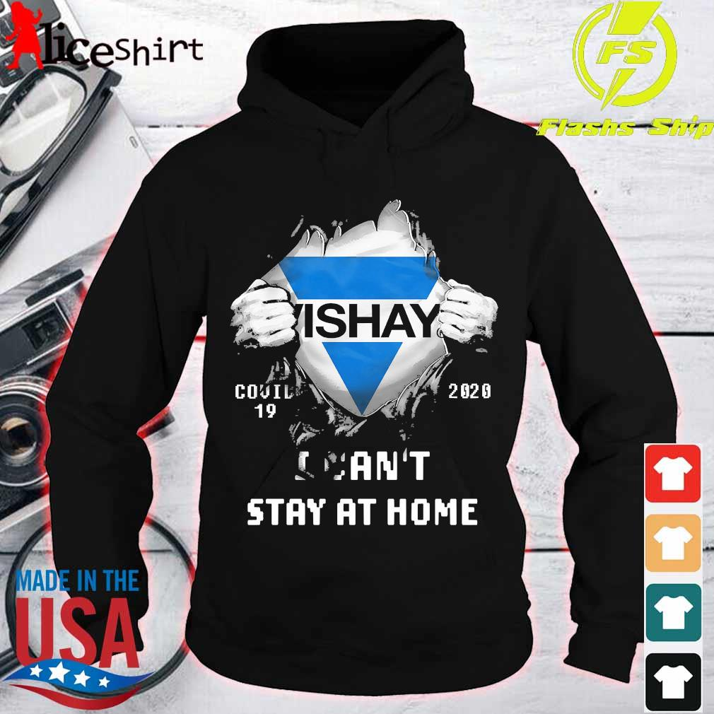 Blood inside me Vishay covid-19 2020 I can't stay at home s hoodie