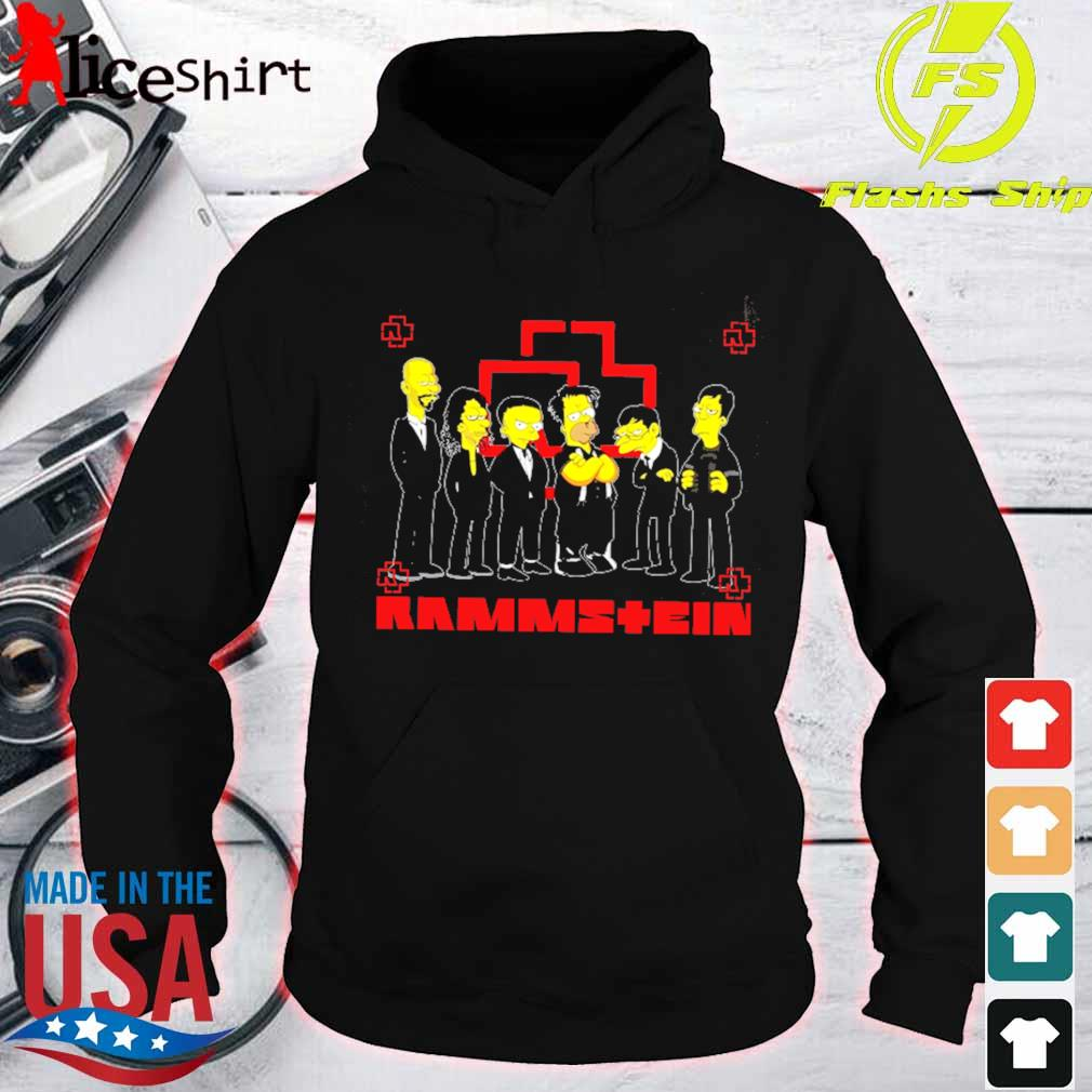 Official The Simpsons Rammstein s hoodie