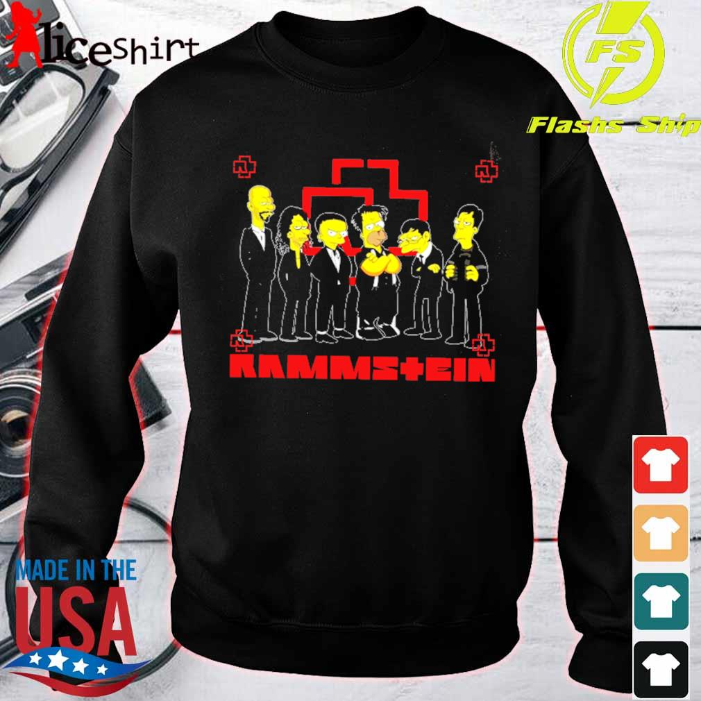 Official The Simpsons Rammstein s sweater